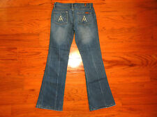 """7 For All Mankind """"A"""" Pocket BOOT Cut Blue Jeans - Women Size 26 - AMAZING!"""