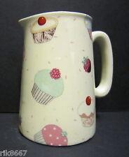 Heron Cross Pottery Cup Cakes Chintz English 1/2 Pint Milk Jug