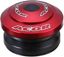 "Acor Fully Integrated Drop-in Headset 1.1/8"" MTB Bicycle Bike Alloy Red 41.8mm"