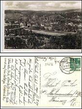 1950 Stempel ESSLINGEN Neckar auf AK Gesamtansicht Teilansicht Bedarfspost-AK
