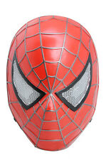 Hot  Sell Spider Man Red Mask Eyes Mesh Protection Paintball Cosplay M731