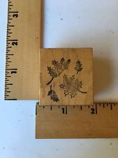 Personal Stamp Exchange Psx Rubber Stamps - Leaves Autumn - C752