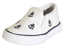 Polo Ralph Lauren Toddler Boy's Bal Harbour Repeat White/Navy Sneakers Shoes
