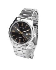 Casio New Original MTP-1302D-1A2 Men Analog Stainless Steel Watch WR 50M MTP1302