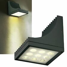 LED Außen-Wandleuchte 320lm IP54 230V 14W EEK:A Up Down Lampe Haus-Wand-Strahler