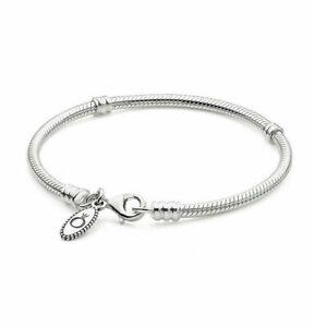 Authentic Pandora Moments Lobster Clasp Bracelet Multiple Sizes 590700HV