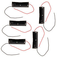 5pcs Lot Battery Holder Storage Box Case For 1x 18650 Rechargeable Battery New