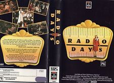 RADIO DAYS - Woody Allen - VHS - PAL -NEW - Never played!! - Original Oz release