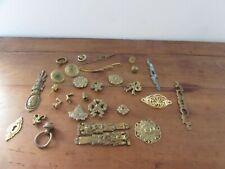 Lovely Set of Elements Ornaments D Upholstery Bronze Brass