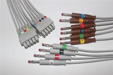 GE Marquette MAC-1200 EKG Leadwire, OEM 38401817,AHA,K114MQ