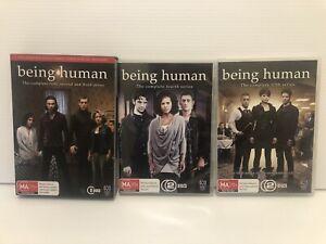 Being Human Series Complete Season 1-5 1 2 3 4 5 DVD 12 Discs Aus PAL Region 4