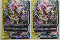 FUTURE CARD BUDDYFIGHT SORCERY DEITY DRAGON GOSHE S-BT03//0035EN U FOIL