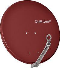 4 Teilnehmer Sat-Anlage Dur-line Select 75  ALU-Spiegel ( in ziegelrot )