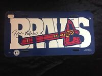 Ryan Klesko AUTOGRAPH Atlanta Braves License Plate FREE SHIPPING
