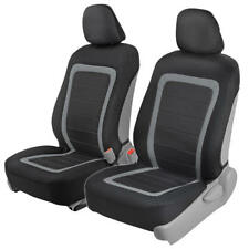 Advanced Performance Sideless Front Car Seat Covers for Airbags and Side Arms 4p