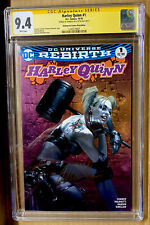 HARLEY QUINN #1 CGC 9.4 SS SIGNED BY DELL'OTTO PINK VARIANT BIRDS OF PREY (2016)