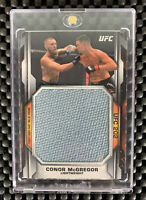 2020 TOPPS UFC KNOCKOUT CONOR MCGREGOR UFC 202 JUMBO FIGHT MAT RELIC /135