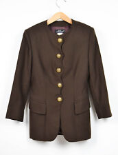 Giacca Jacket ATOS LOMBARDINI, lana, wool, brown, marrone, taglia 42