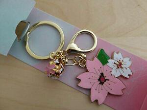 Japanese Key Chain/Key Ring Sensu Sakura Fan Shape Accessory Charm