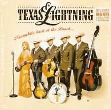 Texas Lightning - Meanwhile, Back At The Ranch... (CD 2006) Black Disc; Enhanced