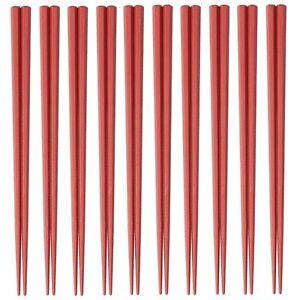 Japanese Hashi SPS resin Chopstick Chopsticks 10pcs 230mm Made in JAPAN Red