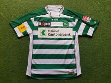 FC ST. Gallen Football Shirt M L 2009 10 jako Trikot Jersey Galler Kantonalbank