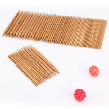 75pcs Double Pointed Bamboo Knitting Needles Case 2mm - 10mm High Quality Set