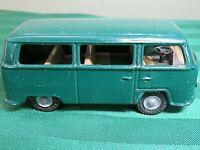 VW Bus Car KOVAP 1969 Volkswagen CKO CZECH REPUBLIC Tin Green RARE HS13