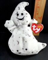 Halloween Ty Ghost Stars And Moon Vanish Plush Stuffed Animal Toy Doll