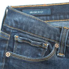 Lucky Brand Brooke Boot Cut Dark Wash Low Rise Stretch Jeans Womens 6 28x30