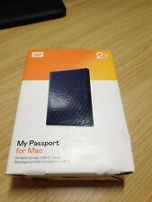 Western Digital WDBA2D0020BBL-WESN WD 2TB My Passport for Mac USB 3.2 Gen 1 E...