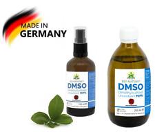DMSO Dimethylsulfoxid 100 / 250 ml Flüssig 99.9% Pure grade Spray Glasflasche