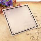 Square Frame Embossing Folders Plastic Stencil DIY Scrapbooking Card Album Craft