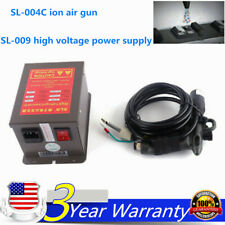 Lonizing Air Gun Antistatic Electrostatic Dust Removal + High Voltage Generator