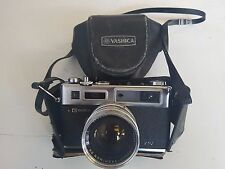 Yashica Electro 35 GS 35mm Rangefinder Film Camera, With Case, Tested