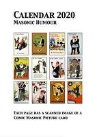 Freemasons 2020 Calendar with Masonic Humour