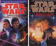 Complete Set Lot of 3 Star Wars Callista Trilogy by Barbara Hambly,  K. Anderson