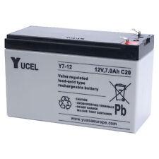 NP7-12 12v 7Ah Yuasa YucellLead Acid Rechargeable Battery y7-12