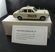 Minicar 43 modellbiler◊ Ford Zephyr Mk. IV 1966 Police ◊1/43  ◊ boxed / en boîte