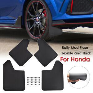 Rally Mud Flaps Mudguards Mudflap For Nissan Ridgeline CR-V Civic Splash Guards
