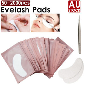 AU 2000 PAIRS Under Eye Curve Eyelash Pads Gel Patch Lint Free Lash Extension