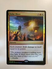 MTG Magic Foil Solar Blaze War of the Spark NM