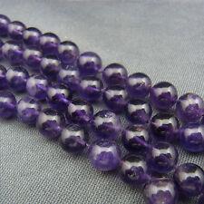 schöne Perlen Kette Amethyst