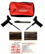 Tubeless Tyre Puncture Repair Kit Car Van Motorcycle Tire Emergency Tool Kit