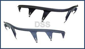 Genuine BMW E46 Headlight Cover Strip Left + Right Set Lamp Upper OEM Molding