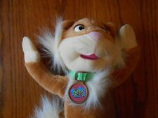 FISHER PRICE  1994 The Puzzle Place SIZZLE CAT Plush/Toy 13""