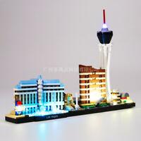 LED Light Up Kit For LEGO Architecture Las Vegas Lighting Las Vegas Set 21047
