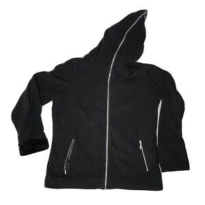SCOTTeVest Women's 2xl Black Chloe Many Pockets Hoodie Jacket Travel Gear