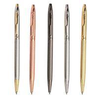 Metal Ballpoint Pen Slim Ball Pen For Business Writing Office Supply Gift N Y2Z2