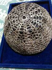 CLASSIC VINTAGE COLLECTION - TRADITIONAL SILVER ROUND CAP IN GOOD CONDITION